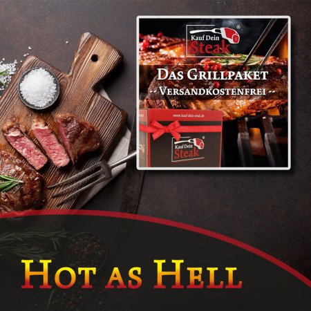 BUY YOUR STEAK - Grill Package