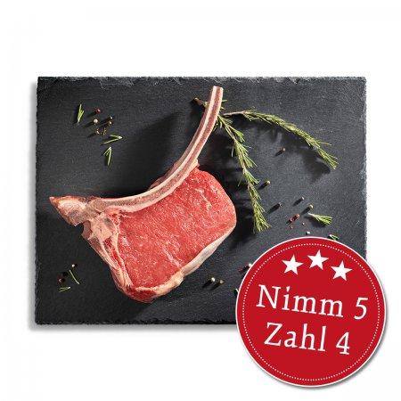 Tomahawk-Steaks - Nimm 5, zahl 4