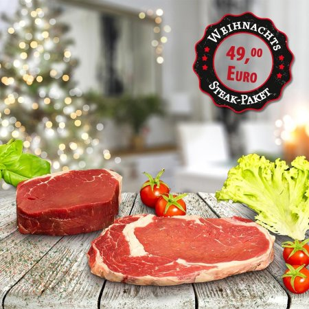 Small Steak-Christmas Package