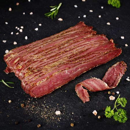 Pastrami - smoked, finely spiced speciality