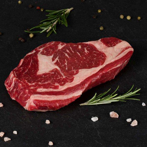 Schlemmer-Steak-Paket mit mittelaltem Käse & lieblichem Rotwein