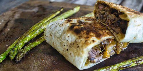 Rib-Eye-Steak als Philly Cheese Steak